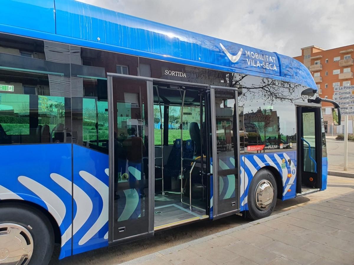 El nou autobús de Vila-seca.