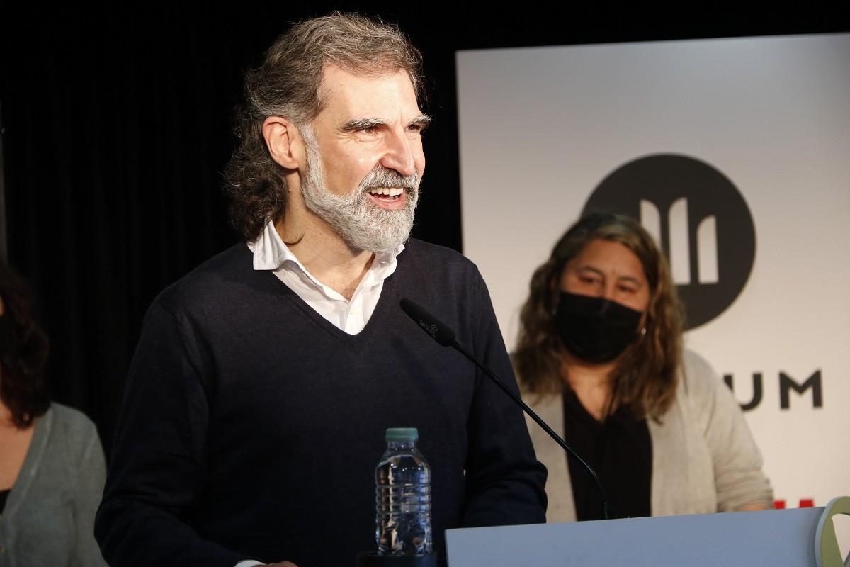 El president d'Òmnium, Jordi Cuixart