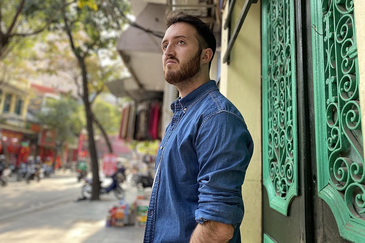 Josep Prat a la capital del Vietnam.