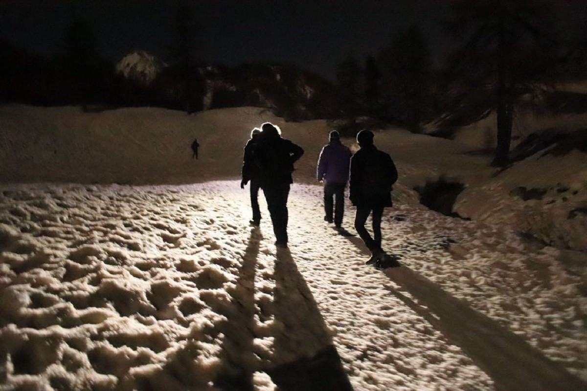 Un grup de sis migrants intenta creuar els Alps per arribar a França