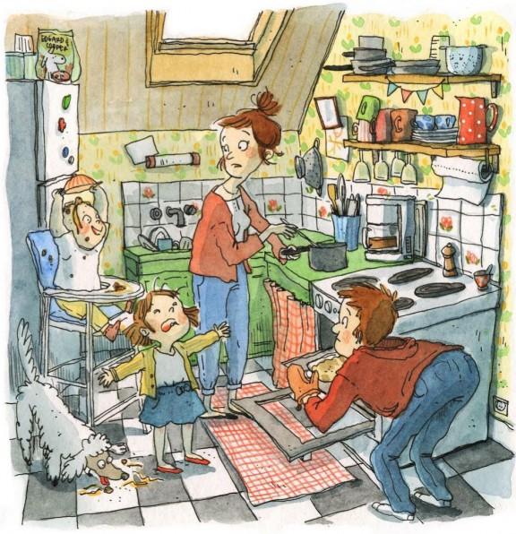 El dia a dia en família
