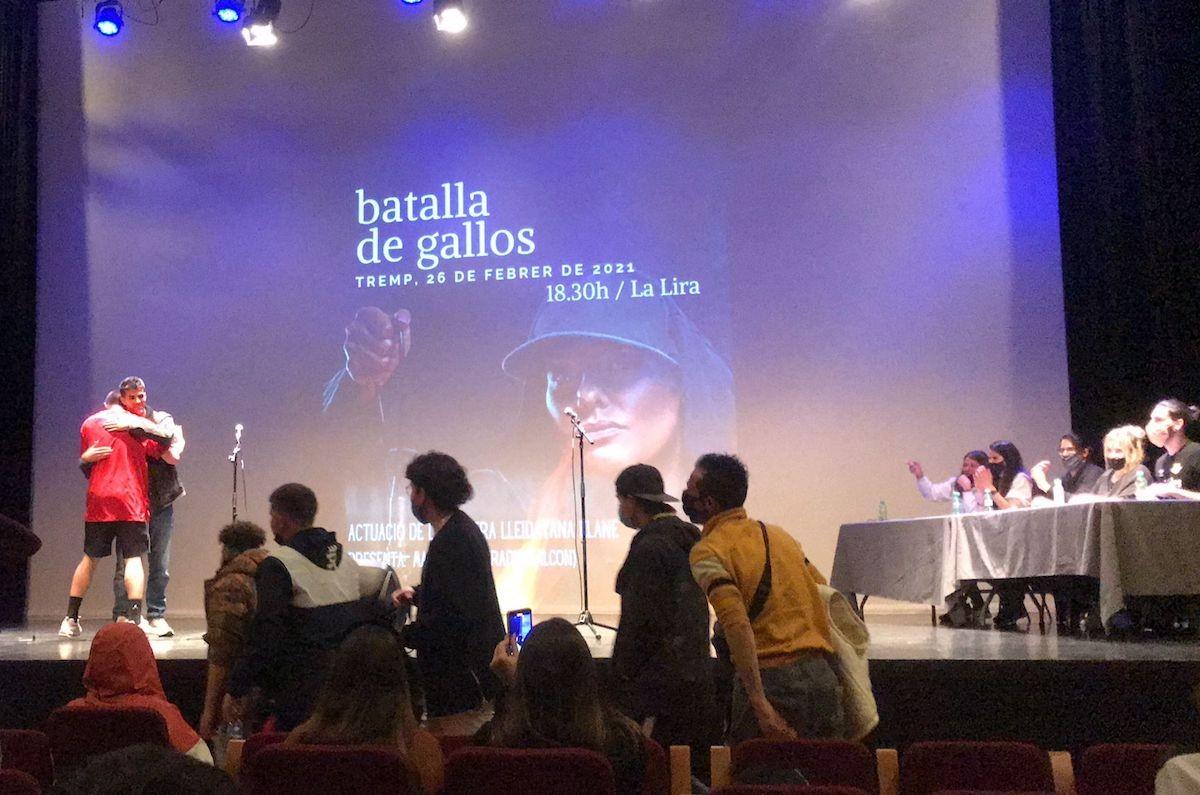 Imatge d'una de les actuacions a La Lira