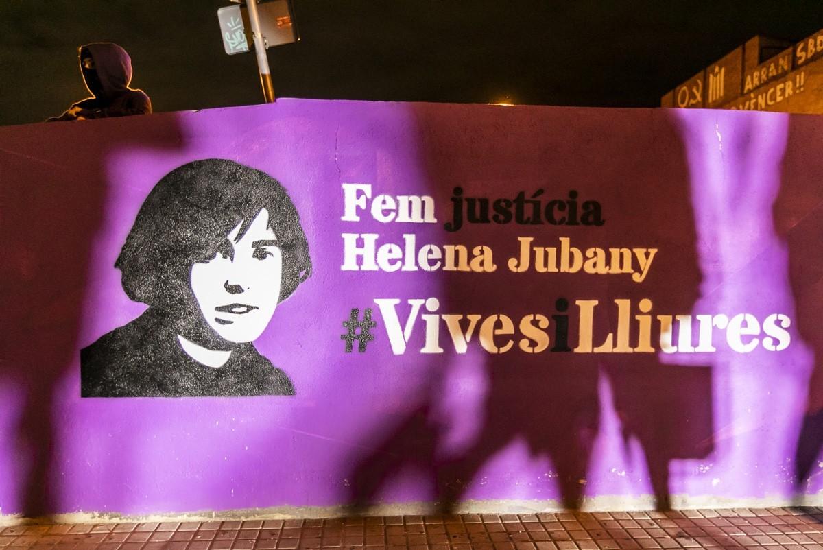 Un dels records a la via pública de Sabadell d'Helena Jubany