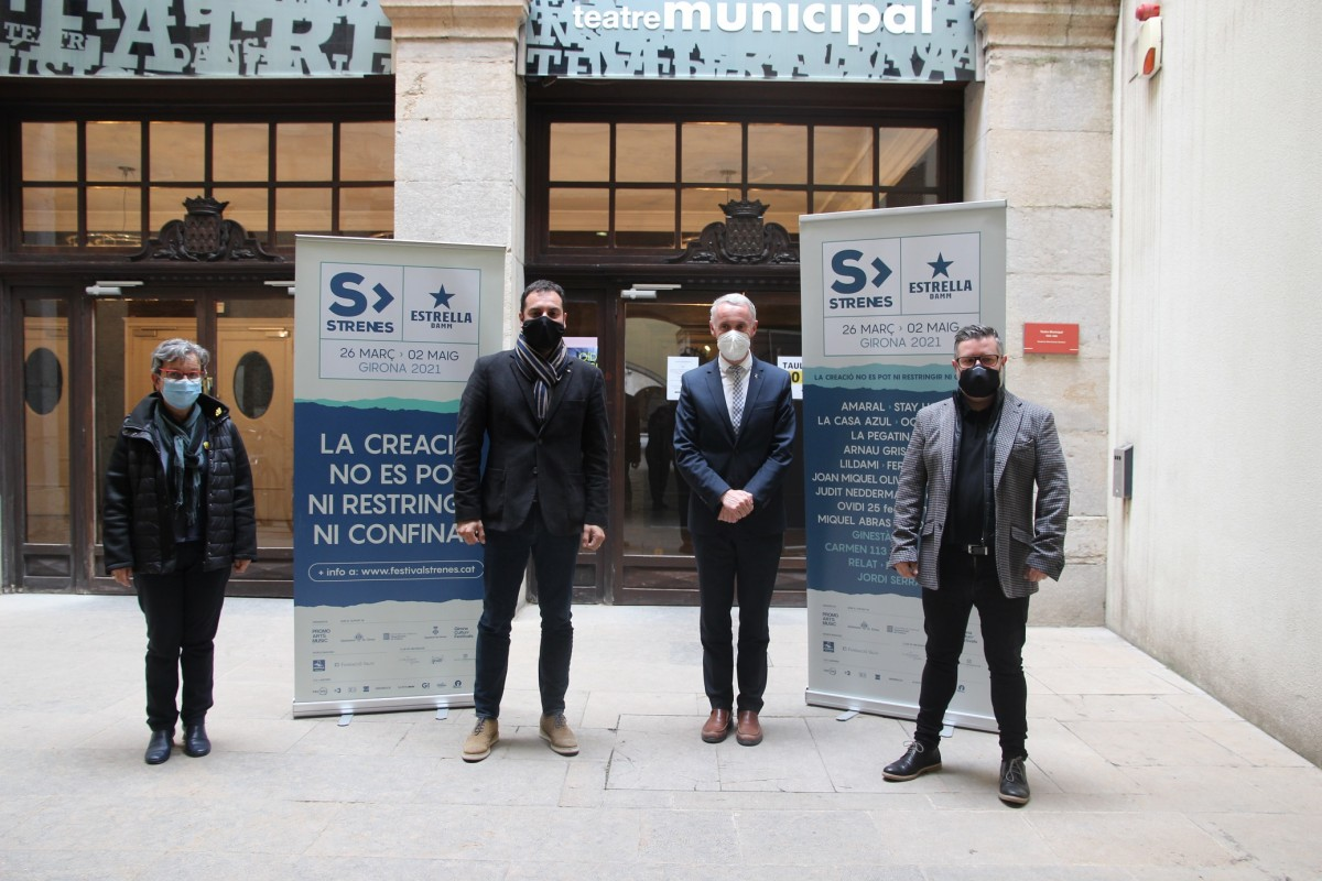 La presentació de l'Strenes 2021 s'ha fet a l'Ajuntament de Girona.