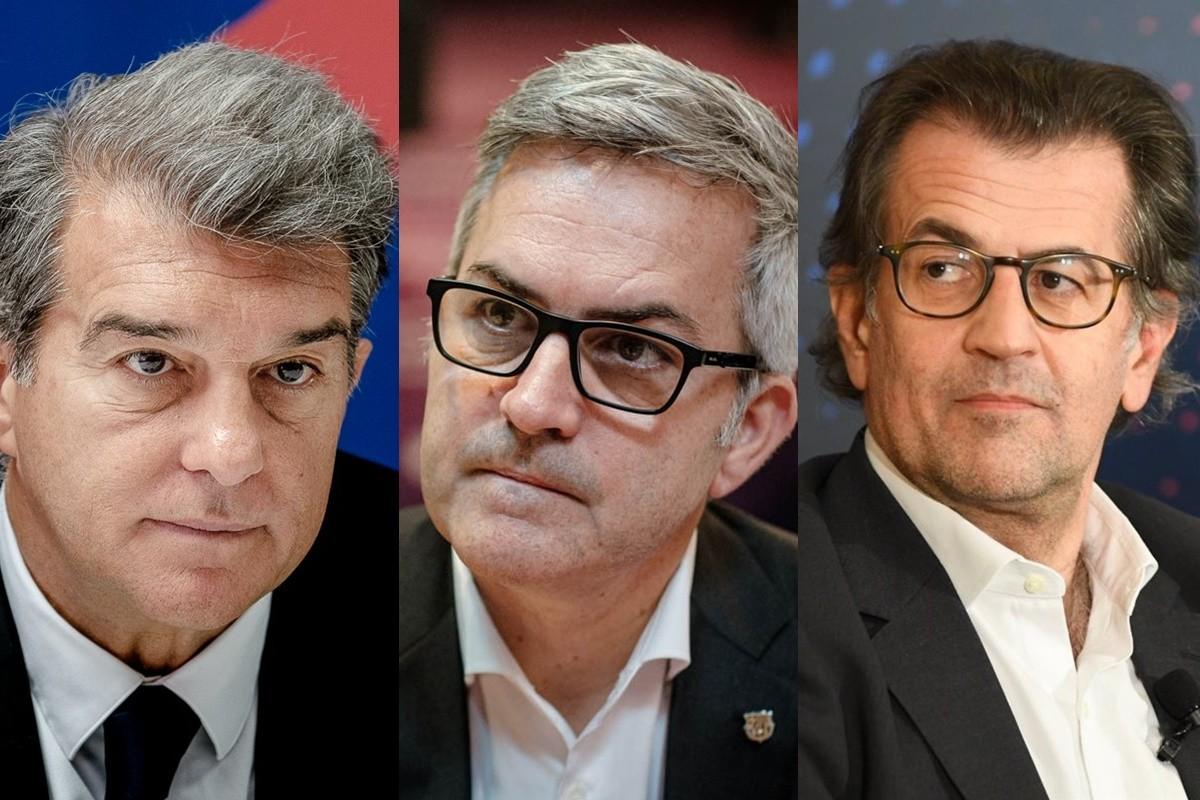 Joan Laporta, Victor Font, Toni Freixa