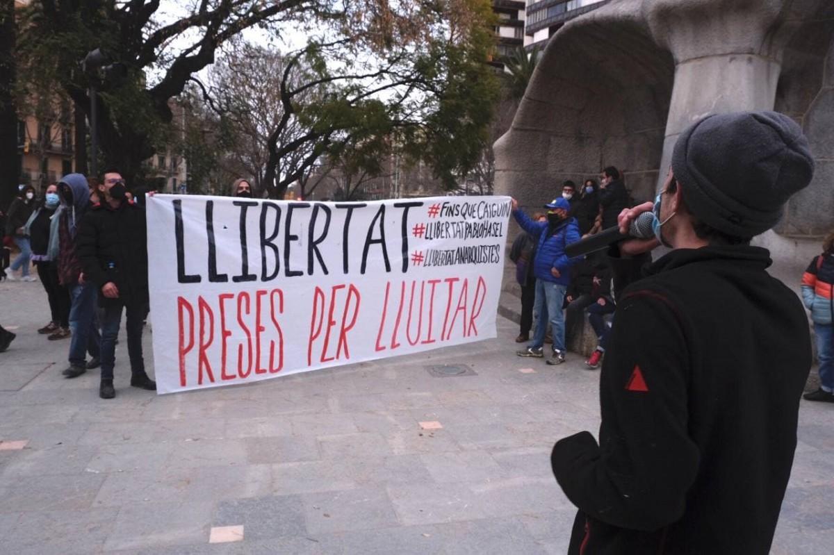 Concentració al centre de Barcelona aquest dissabte
