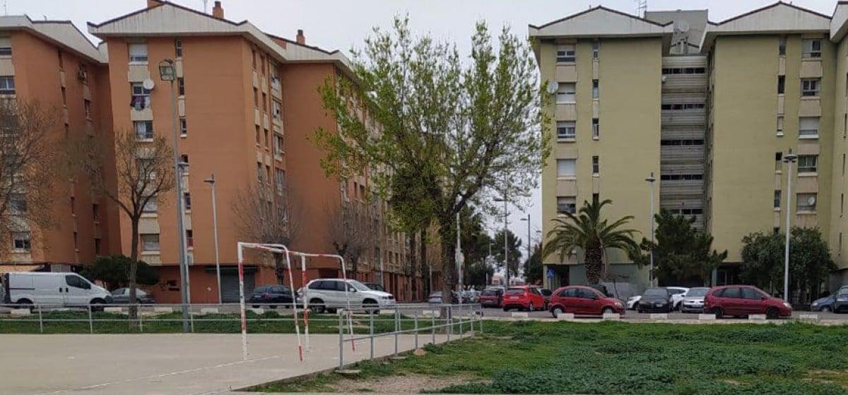 Blocs d'edificis al barri de Campclar, a Tarragona.