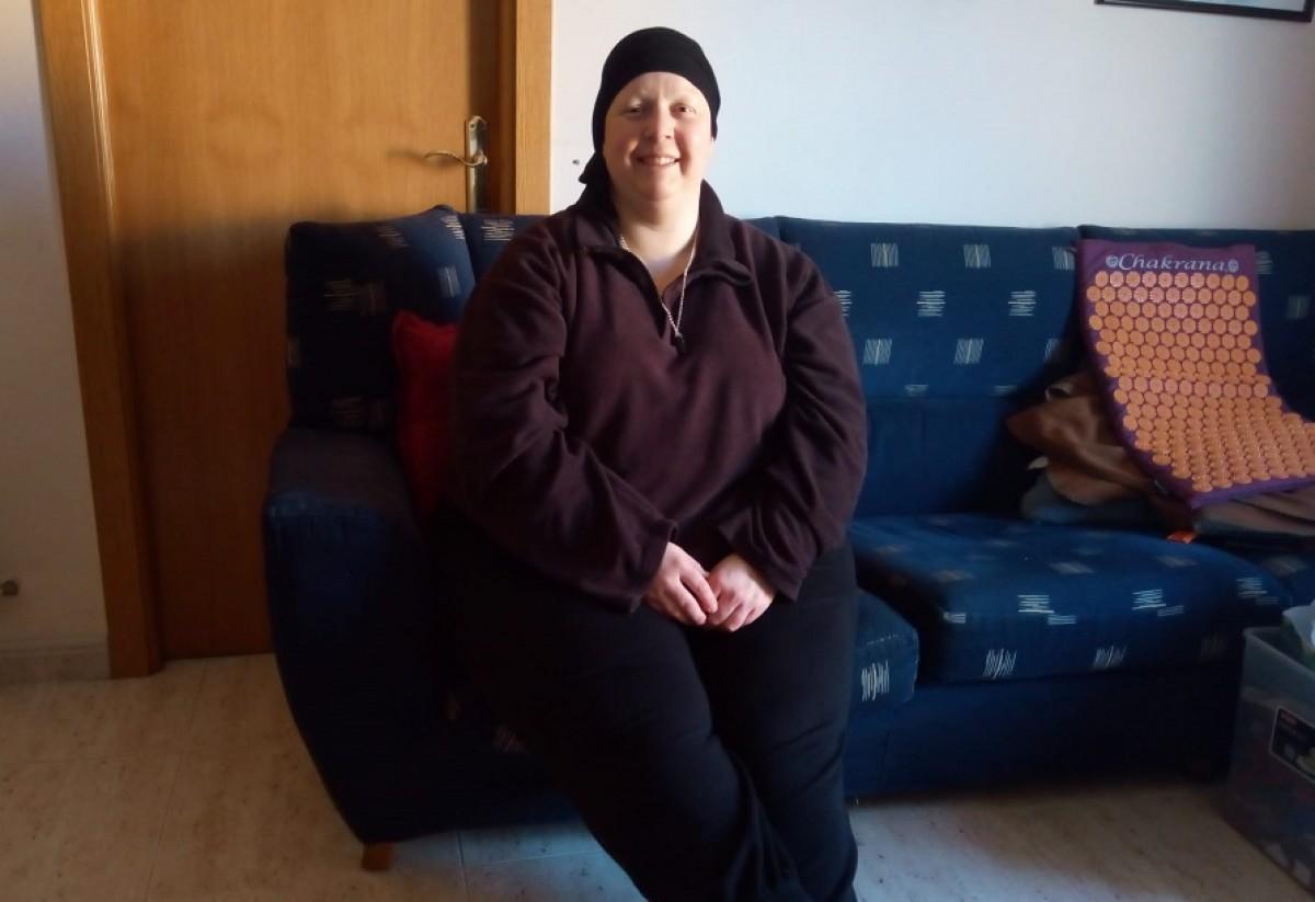 La Marta viu a la Bisbal d'Empordà amb el seu home i el seu fill de 10 anys.