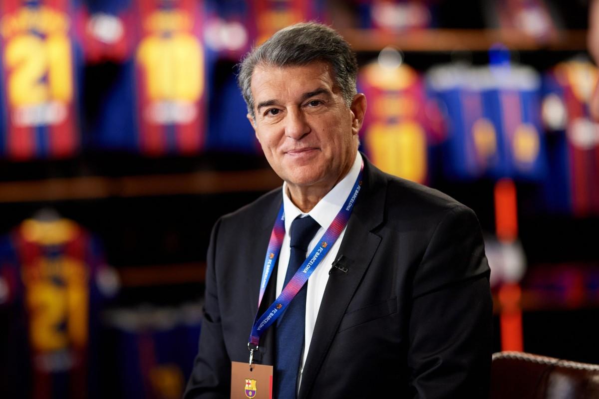 Joan Laporta, en una imatge d'arxiu