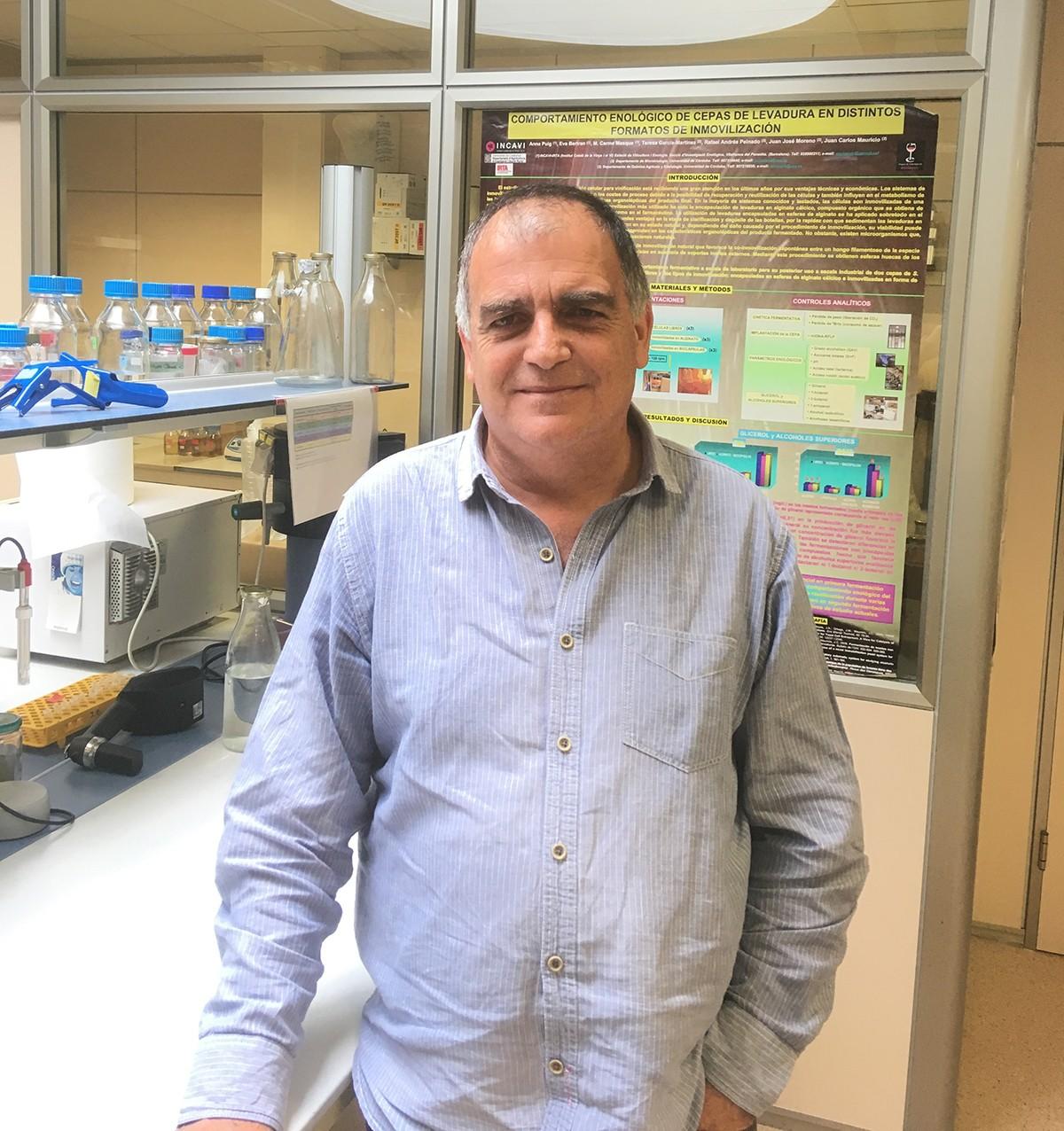Lluís Giralt, investigador i tècnic de l'INCAVI