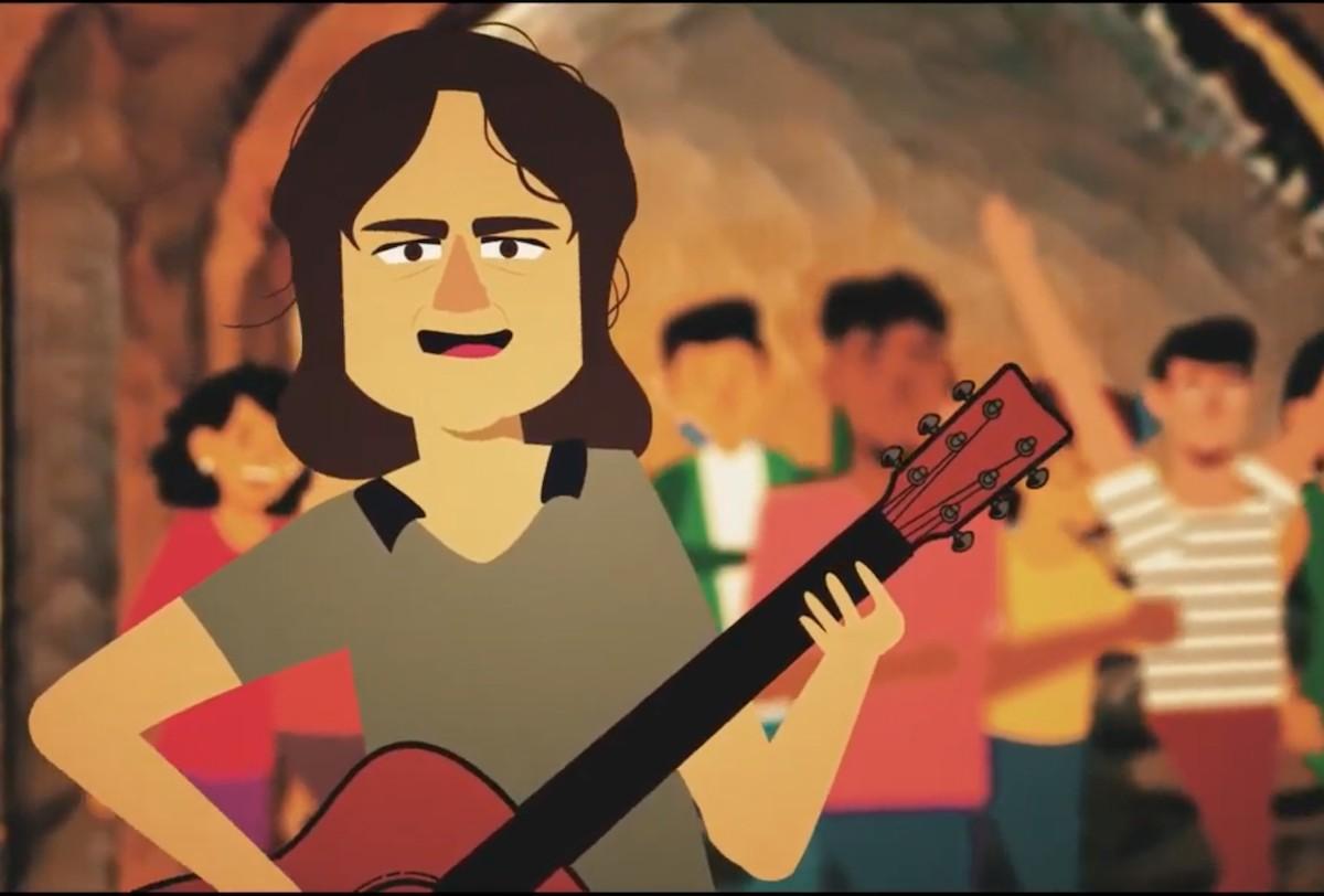 Imatge animada del clip d'«Osmosi»