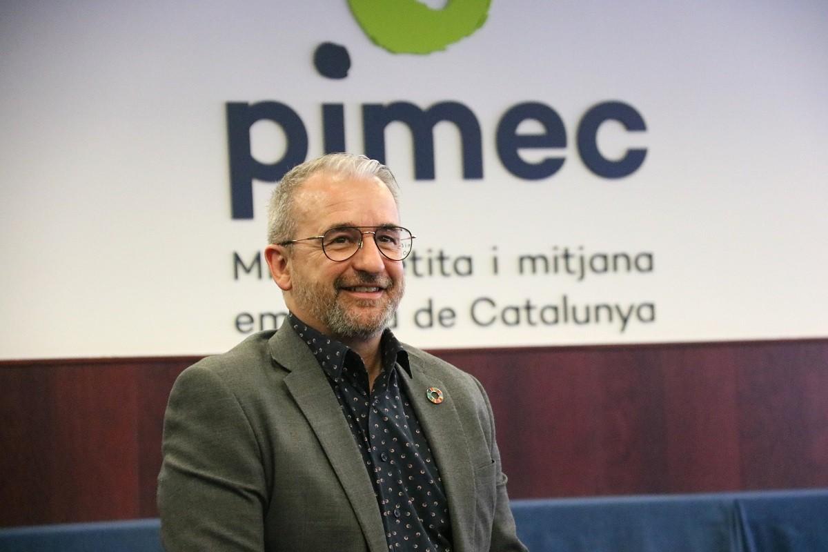 Josep Ginesta, aquest dimarts.