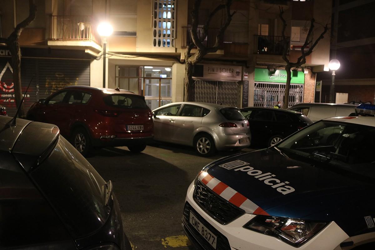 Imatge d'arxiu dels fets al carrer Pin i Soler.