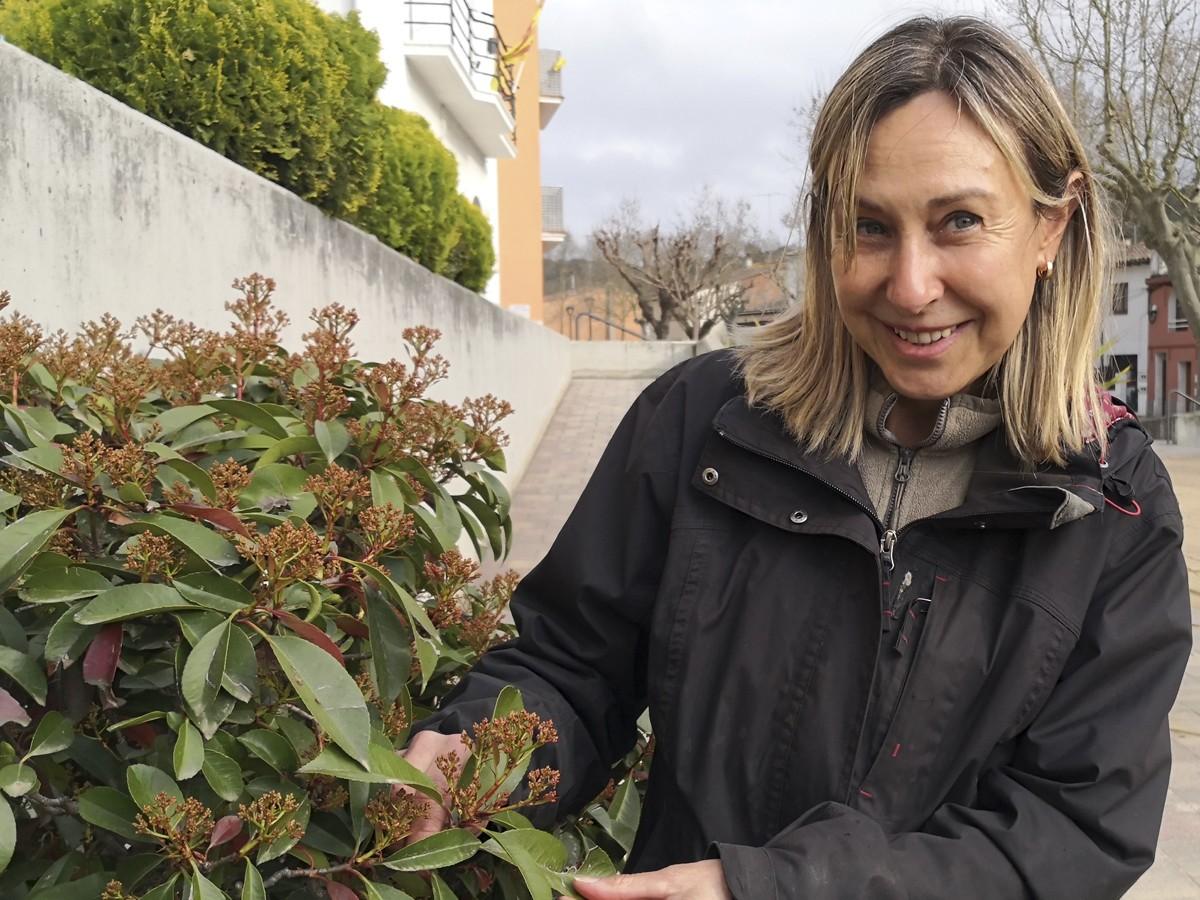 Mireia Teixidó reclama valorar més la jardineria