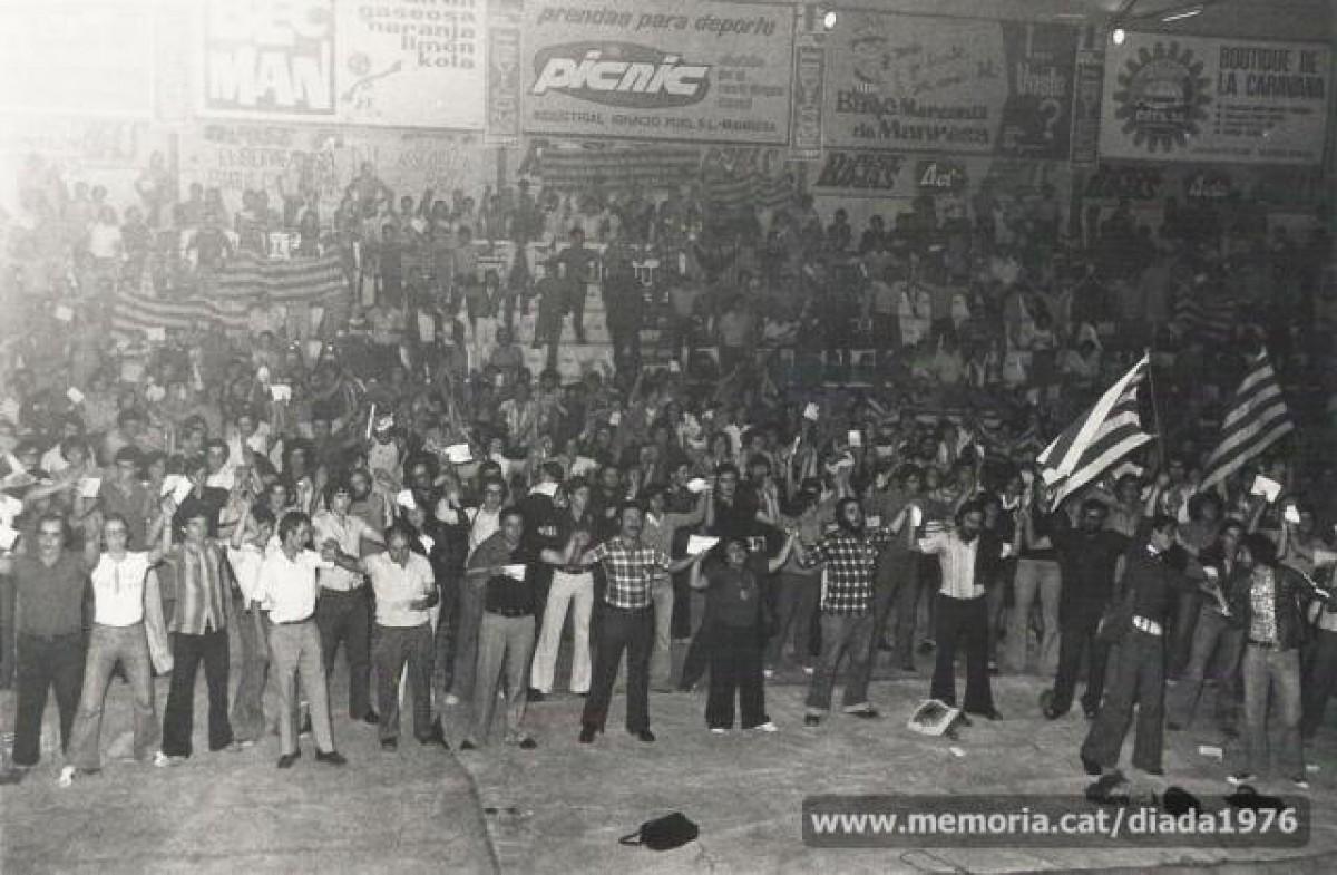 Acte unitari al Congost, el setembre de 1976, convocat per l'Assemblea