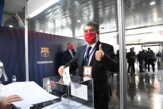 Joan Laporta torna al Barça