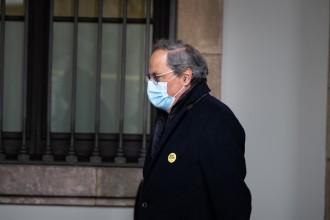 Torra demana investigar «amb màxima profunditat» la doble acusació d'un mosso contra Marcel Vivet i Adrià