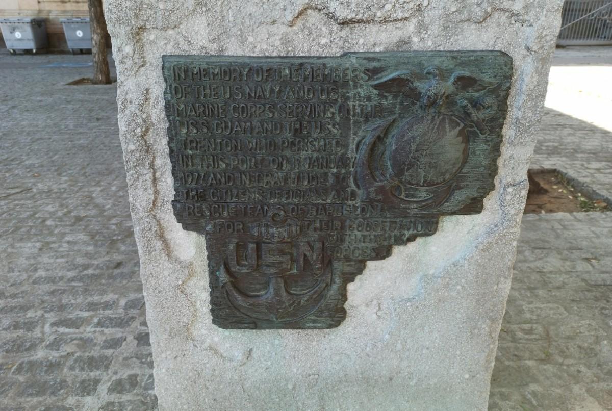 Detall de l'estàtua