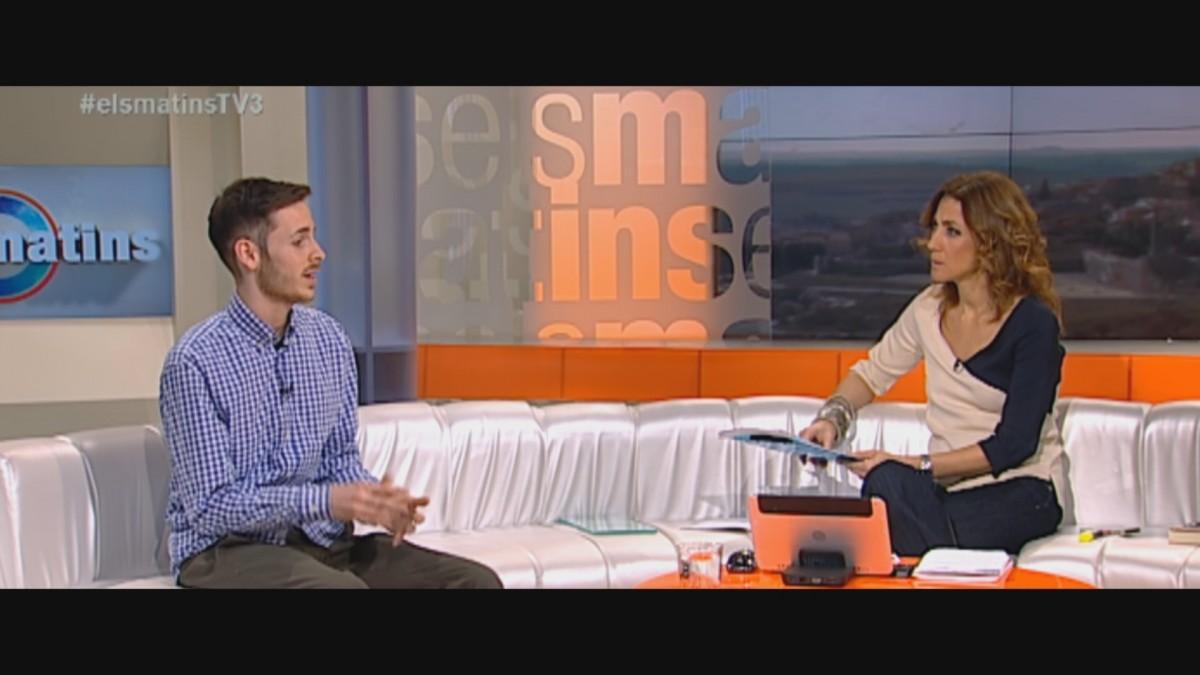 Entrevista a Albert López als Matins de TV3, en un fragment recollit al Sense ficció