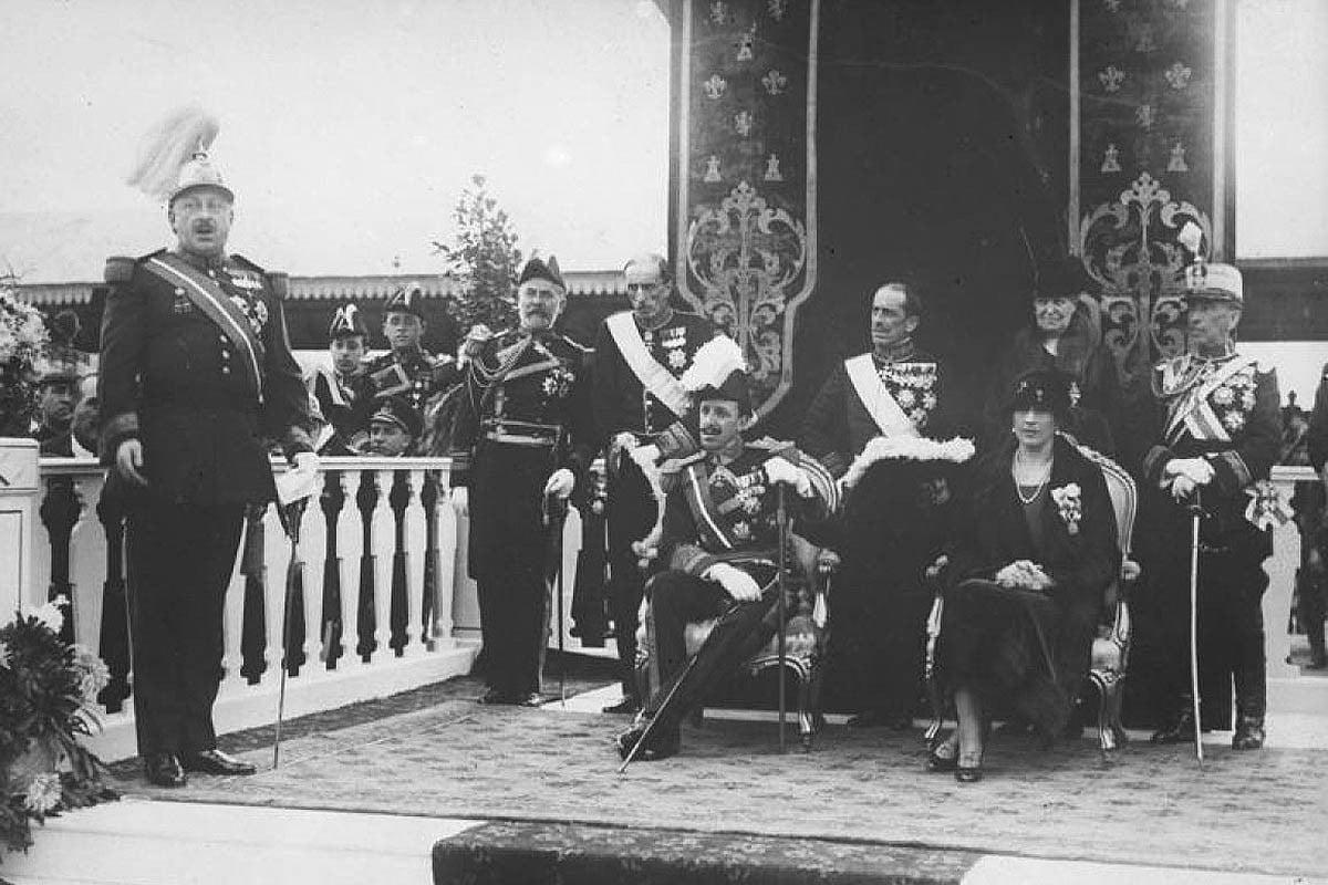 Alfons XIII amb el dictador Primo de Rivera
