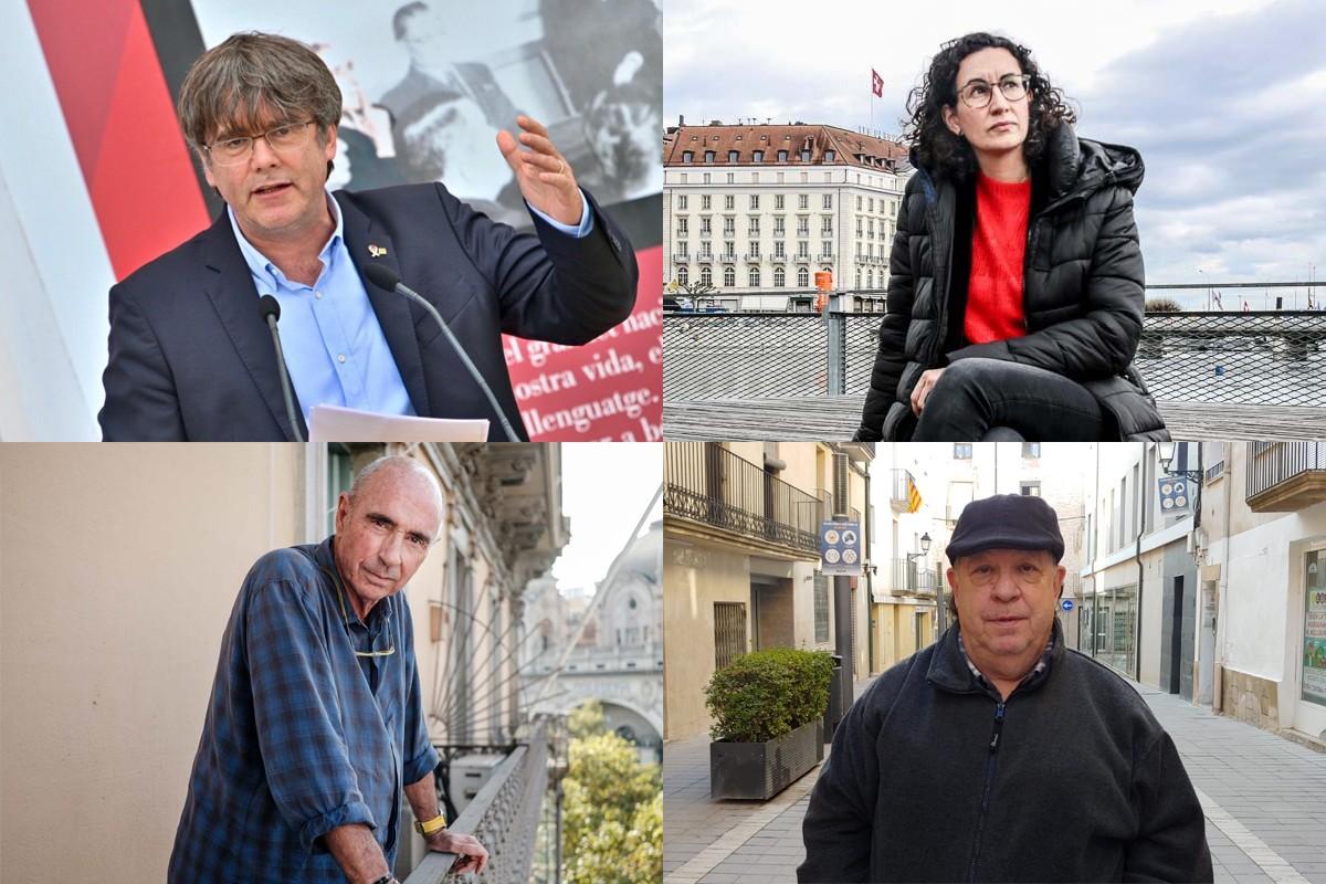 Puigdemont, Rovira, Llach i Reñé són entrevistats a 'Ferides d'exili' (Pagès editors).
