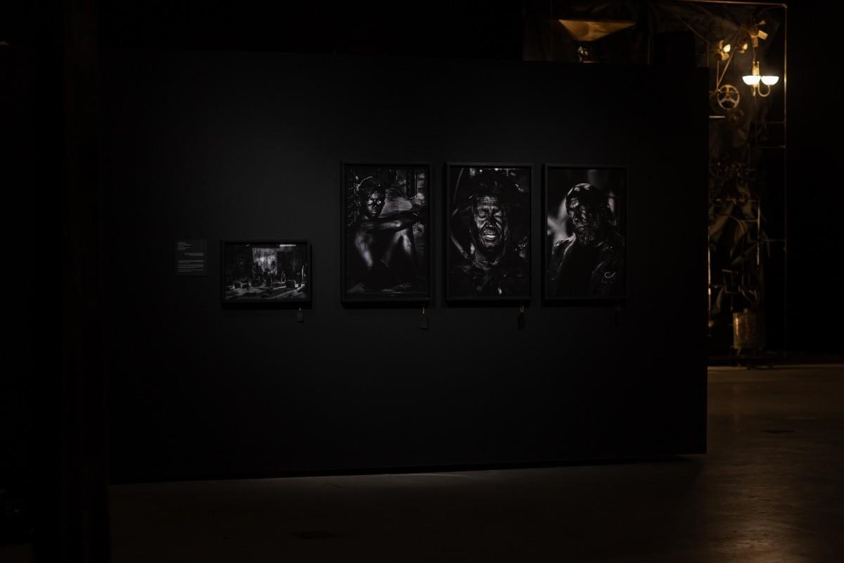 L'exposició 'La Muda' al Centre d'Art Lo Pati d'Amposta.