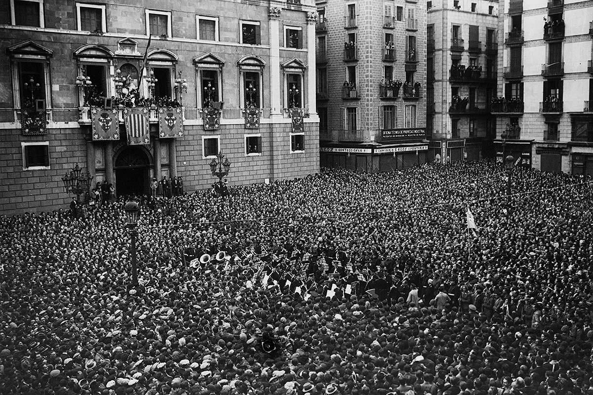 La Banda Municipal de Barcelona, a la proclamació de la República