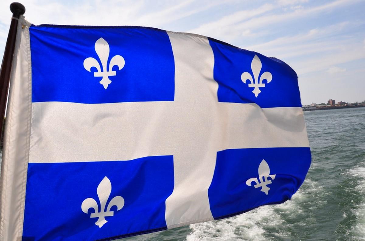 La bandera del Quebec