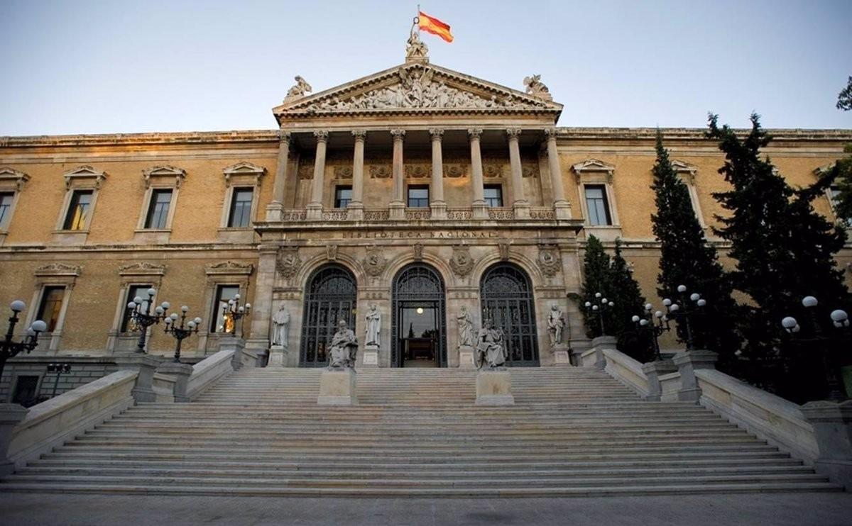 La Biblioteca Nacional d'Espanya en una imatge d'arxiu