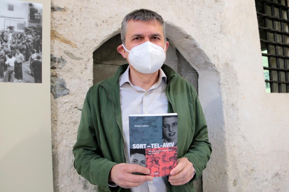 L'historiador Josep Calvet és l'autor de 'Sort-Tel-Aviv'