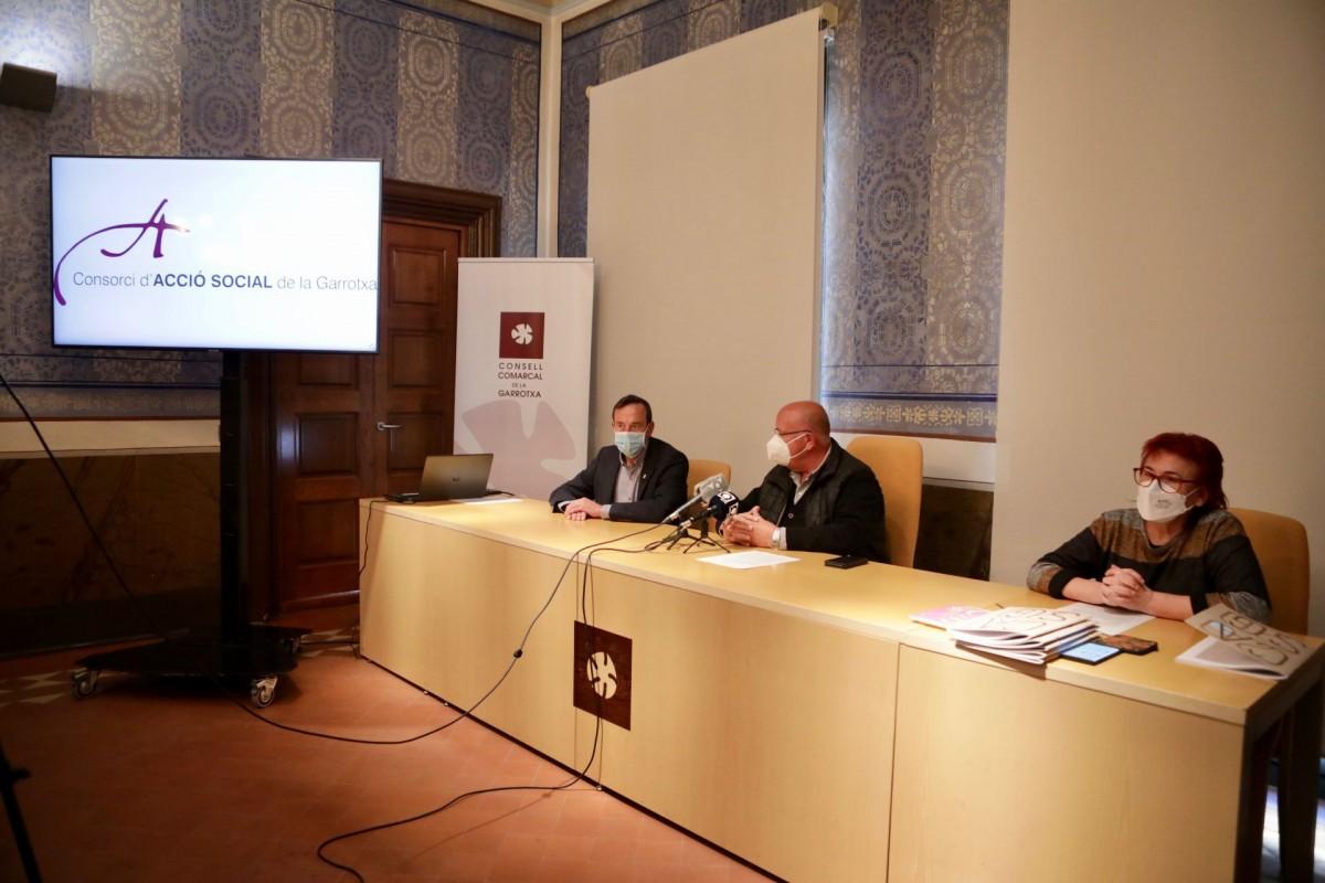 La presentació de la Memòria del CASG s'ha fet al Consell Comarcal de la Garrotxa