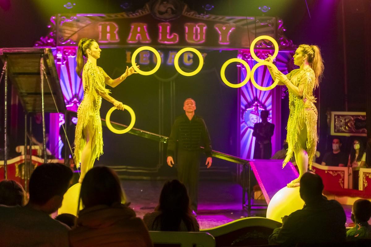 El nou espectacle del circ torna a l'aparcament de l'Eix Macià