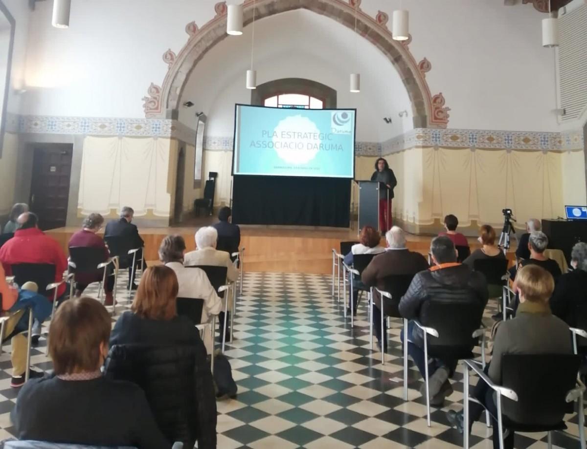 Presentació del pla estratègic de Daruma a la sala Sant Francesc, a Granollers