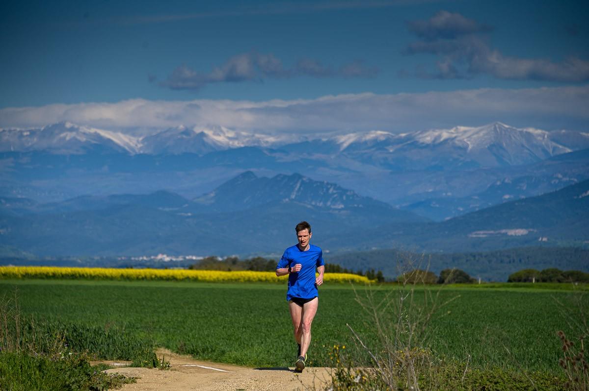 La cursa de Fontcoberta amb un paisatge excepcional