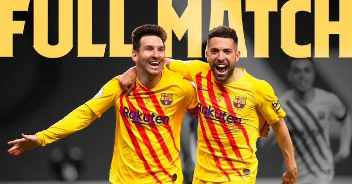 Alba i Messi, celebrant un dels gols de l'argentí