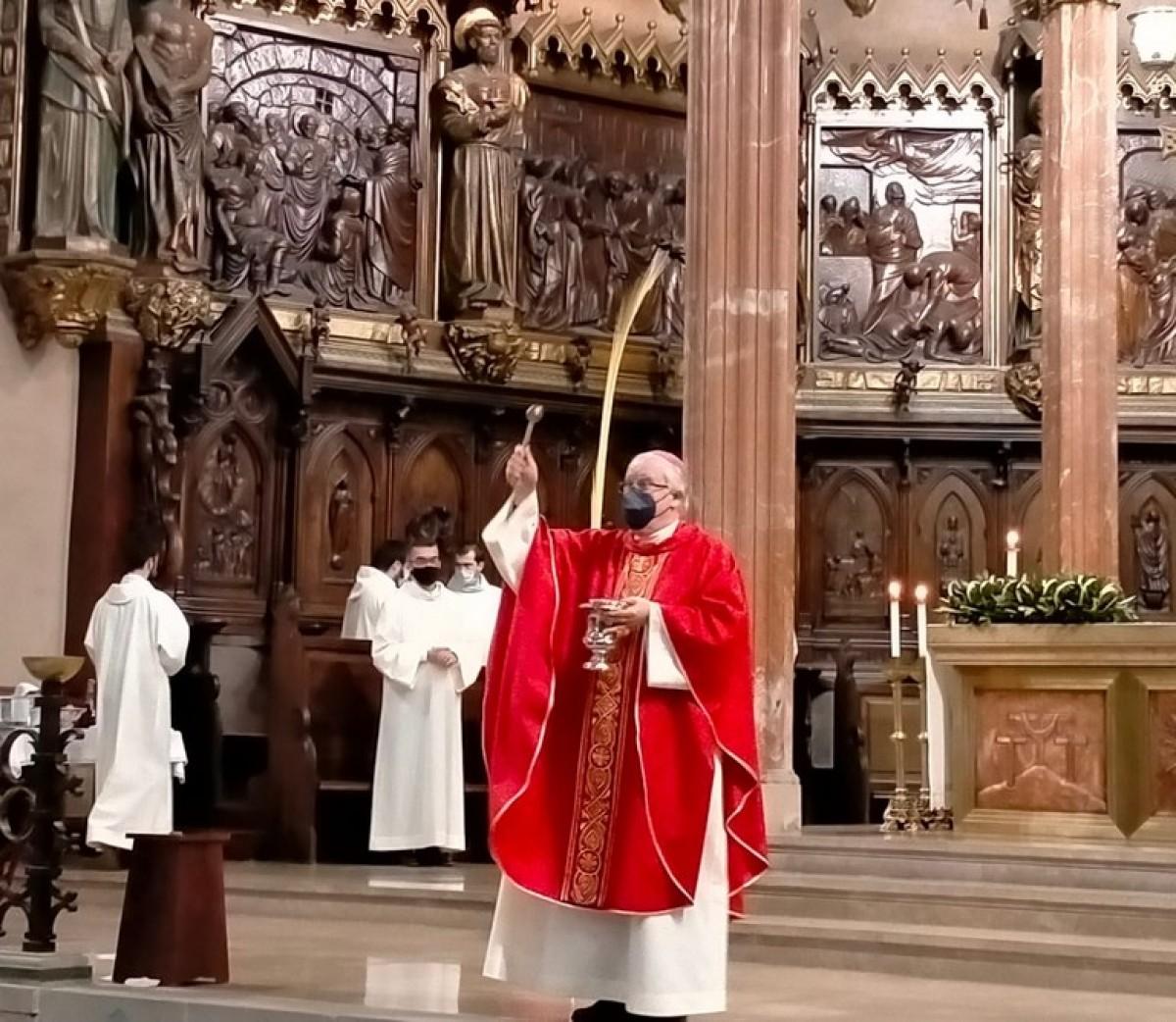El nou arquebisbe de Sevilla, José Ángel Saiz Meneses.