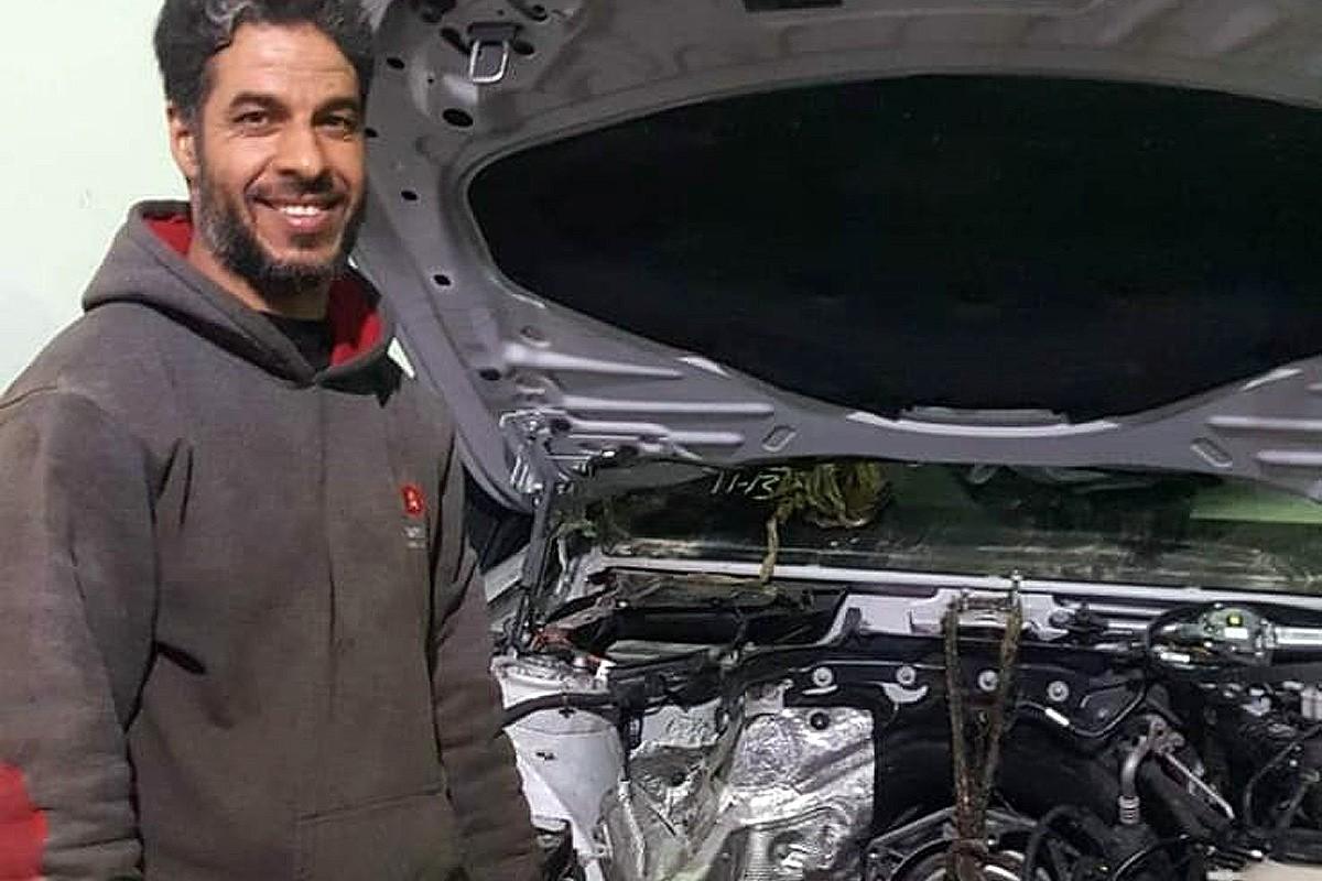 Khalid Laássiri treballava a Alemanya