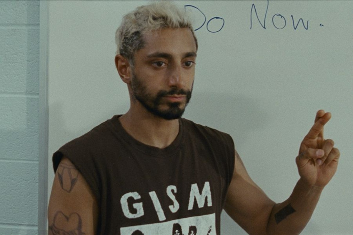Riz Ahmed en un moment de la pel·lícula «Sound of Metal»