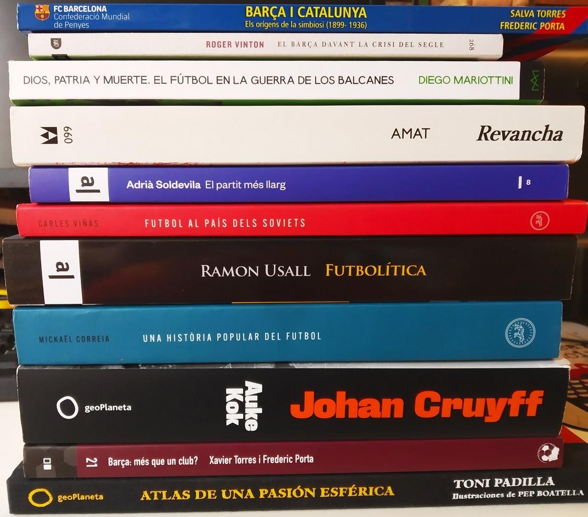 Onze recomanacions per a un Sant Jordi futbolístic.
