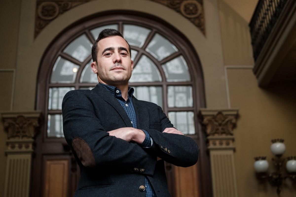 Oriol Alba, és el nou secretari general de Cecot des del gener del 2021.