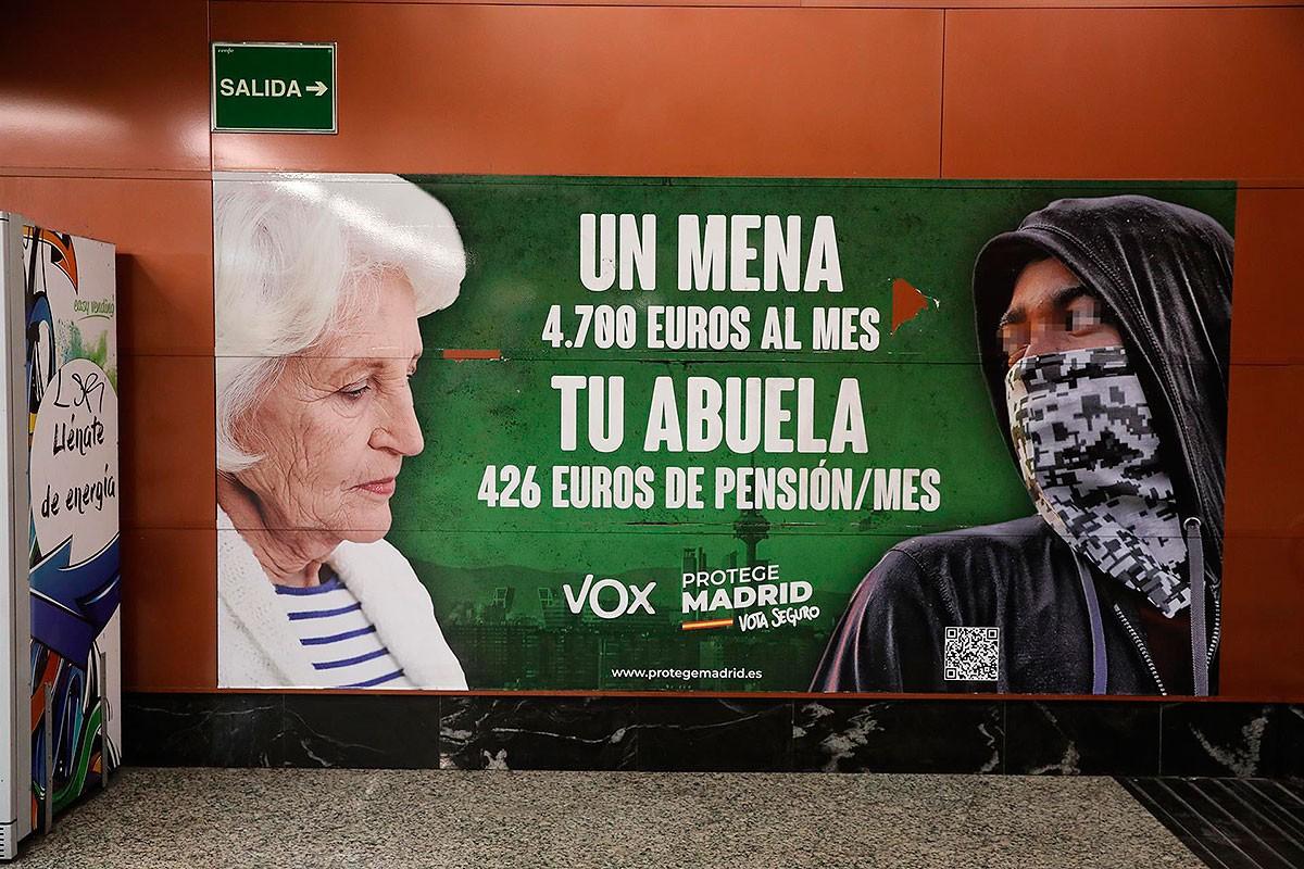 El cartell de la polèmica
