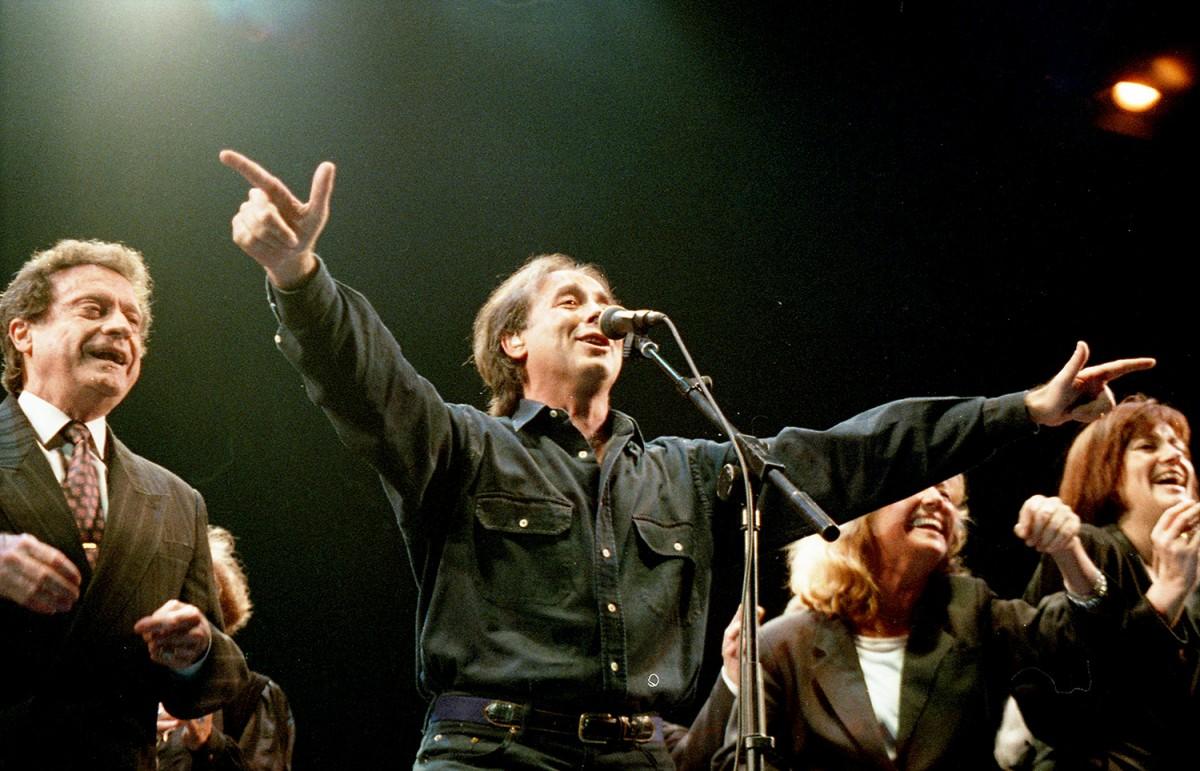 Joan Manuel Serrat al Sant Jordi