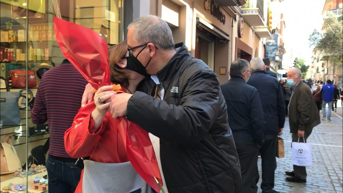 Sant Jordi 2021 a Sant Cugat.