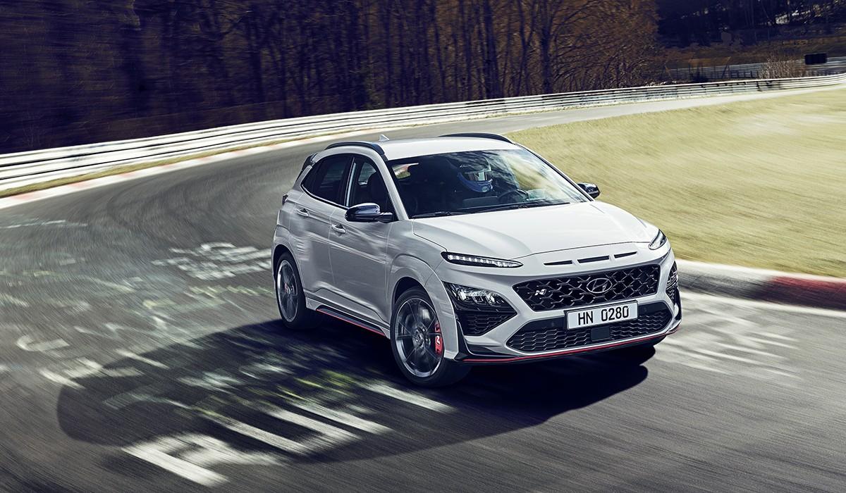 El KONA N incorpora diverses funcions de conducció d'alt rendiment exclusives dels models N de Hyundai