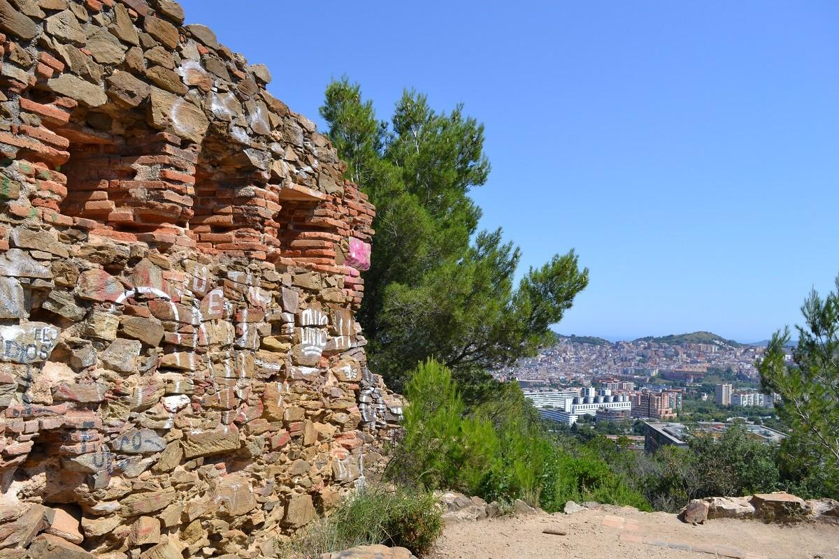 Les ruïnes del fortí d'Horta