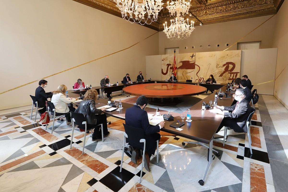 Reunió del Govern del 4 de maig del 2021.