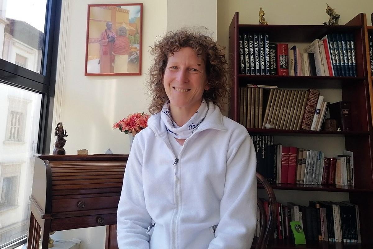 La psicòloga i professora de ioga Màrcia Cecchini