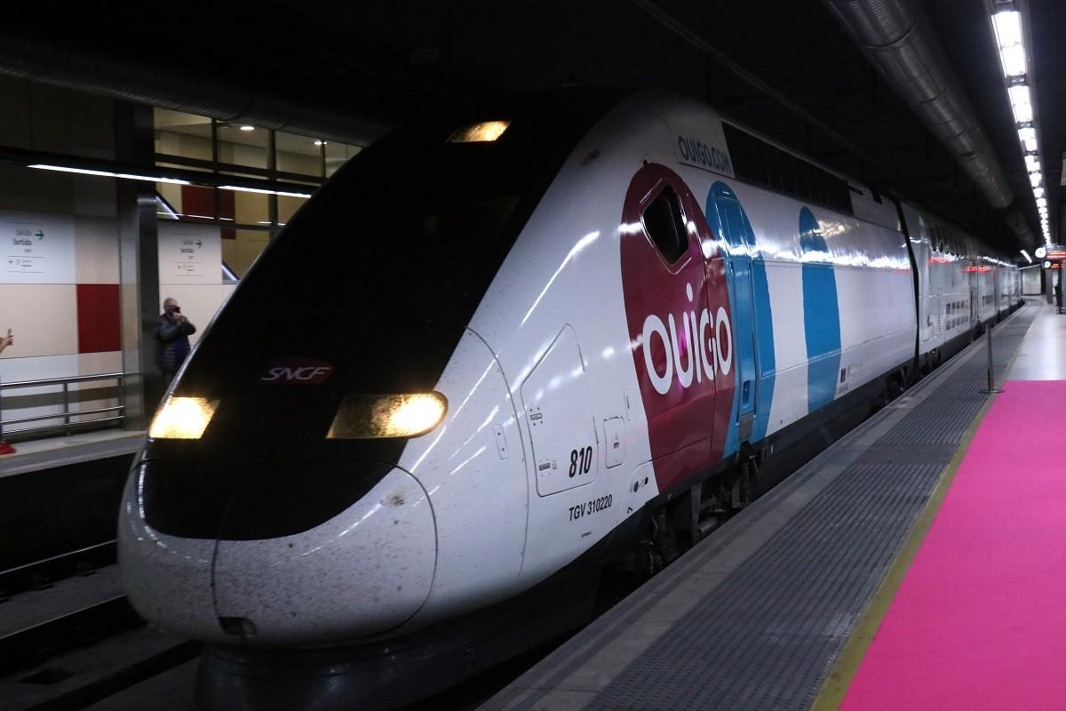 Un tren d'Ouigo.