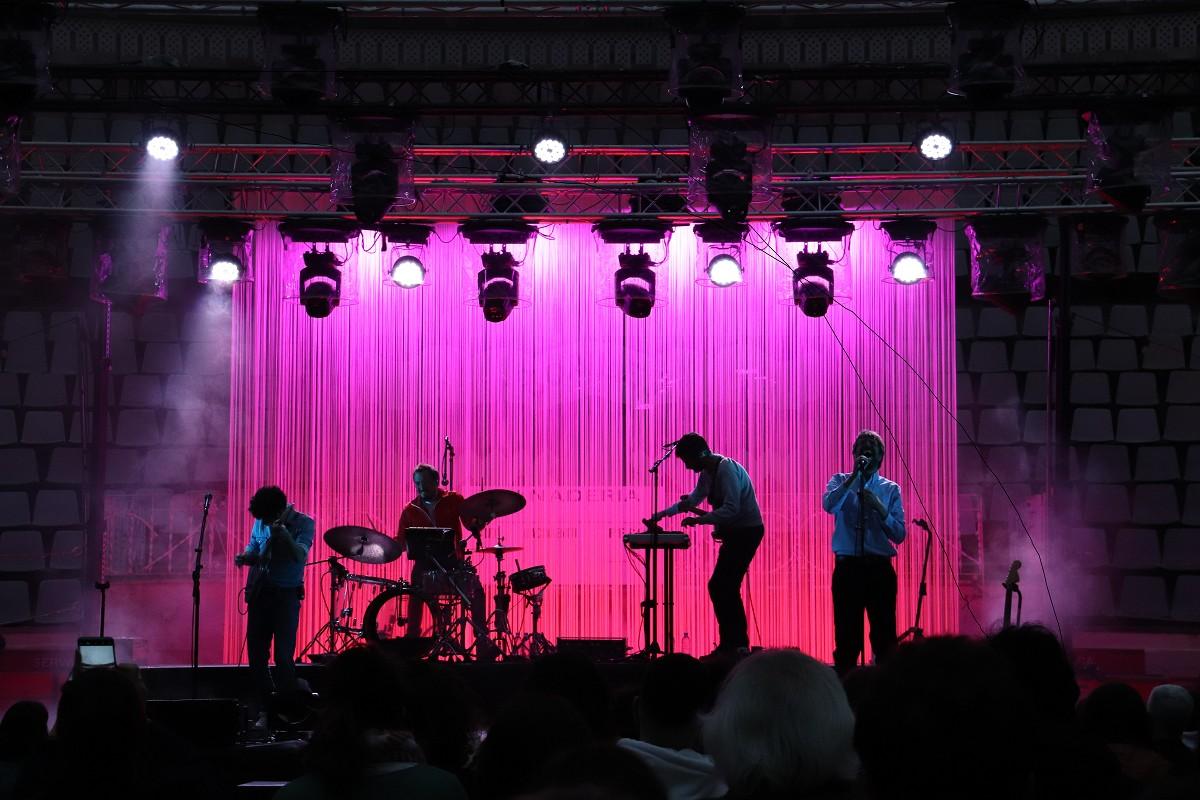 Manel en concert a la Monumental Club de Barcelona