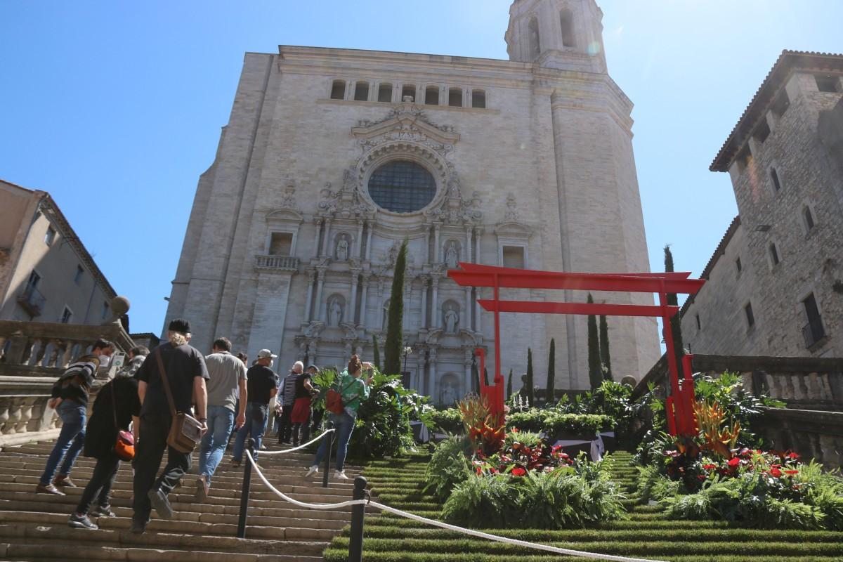Visitants del Temps de flors de Girona
